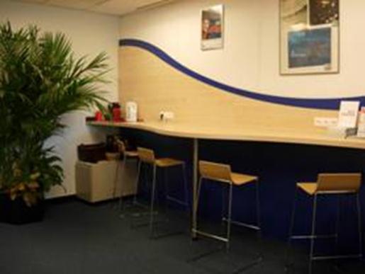 Amex, Aménagement de bureaux