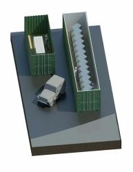 Datacenter modulaire en container externe