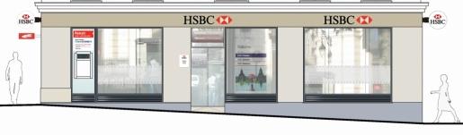 Réaménagement d'une banque