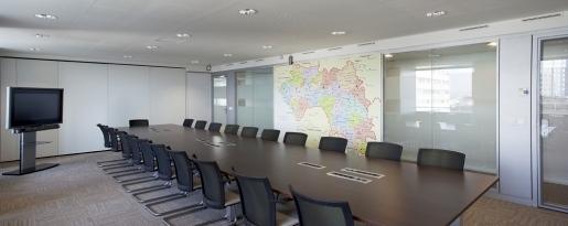 Réaménagement de bureaux, La Défense