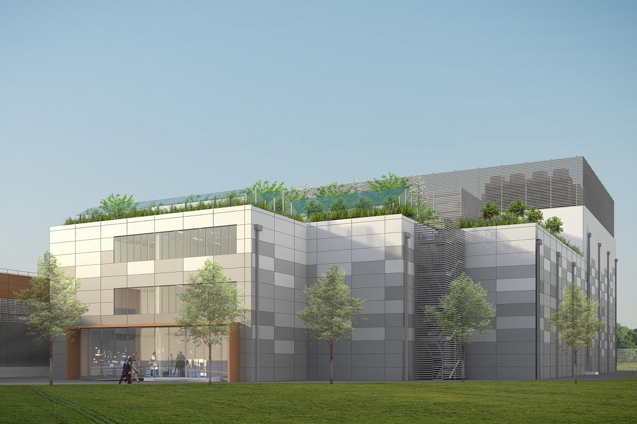 data centre facade