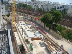 Construction de data center Global Switch à Clichy