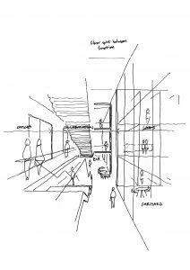 Reid Brewin Architects - SciTech design - drawing