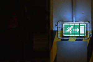 Illuminated exit sign ideas