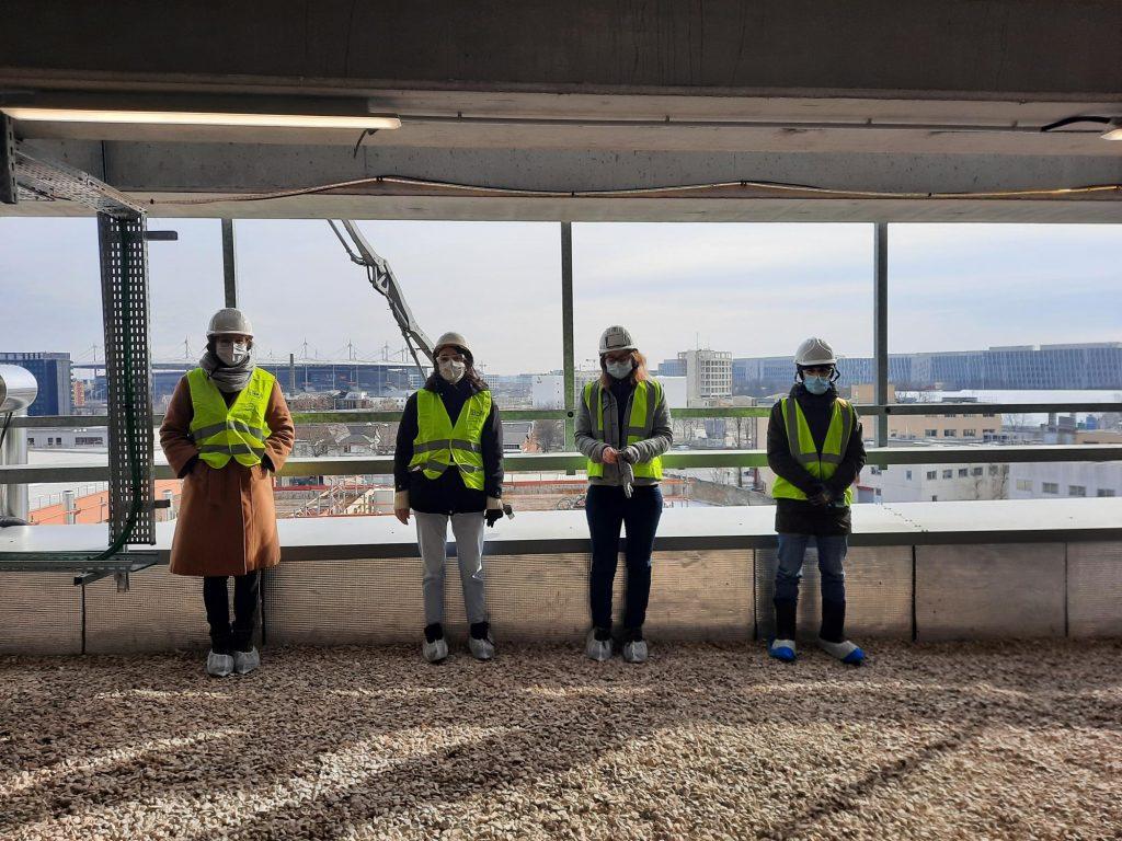 Reid Brewin Architects - team on site