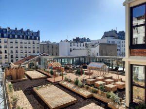 Rooftop garden - RBA