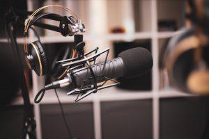 radio microphone - Alex Reid